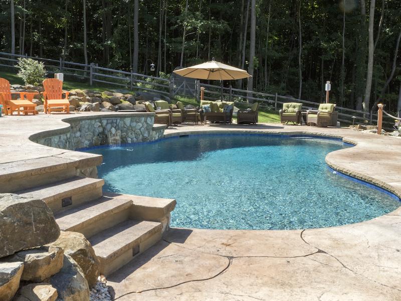 Step Up To Beautiful Views Fronheiser Pools